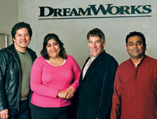 DreamWorks haciendo musical animado de Monkeys of Bollywood
