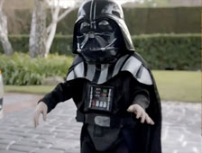 Video: Darth Vader en anuncio para Volkswagen durante el Super Bowl