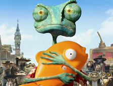 Anuncio de TV para Rango con Johnny Depp durante el Super Bowl