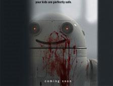 Trailer para el cortometraje Blinky sobre un espantoso robot