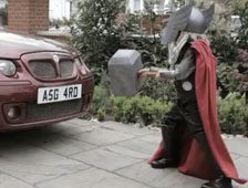 V&iacute;deo: Thor parodia el anuncio Darth Vader de Volkswagen durante el Super Bowl 