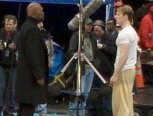 Fotos: Capitán América filmando escenas secreta en Times Square