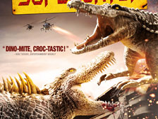 Trailer de Dinocroc vs Supergator con David Carradine