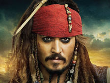 Johnny Depp cerca de un acuerdo para Pirates of the Caribbean 5