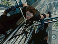 Foto promocional de Tom Cruise en Mission: Impossible 4 