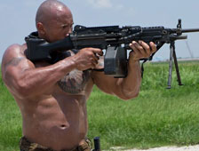 Primer Vistazo: Dwayne Johnson como Roadblock en GI Joe 2