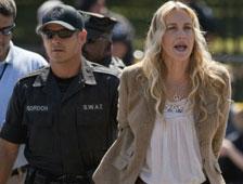 Vídeo: Daryl Hannah detenida en la Casa Blanca
