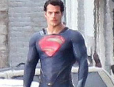 Fotos: Una vista clara del traje de Superman de Henry Cavill en Man of Steel