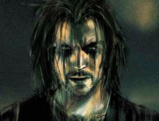 Arte conceptual: Bradley Cooper como Eric Draven en el reboot de The Crow