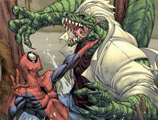 Juguete de The Amazing Spider-Man confirma una escena de lucha del Lagarto