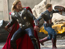 Anuncio de TV para The Avengers durante el Super Bowl