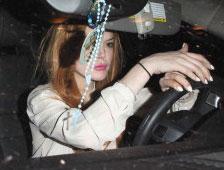 Lindsay Lohan está en problemas otra vez