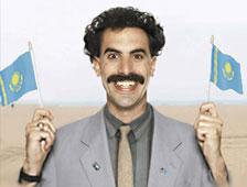 El himno falso de Kazajstán de Borat accidentalmente jugado en evento deportivo