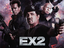 Nueva foto de Schwarzenegger, Stallone y Willis de The Expendables 2