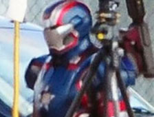 Ese NO es Iron Patriot en Iron Man 3, es War Machine