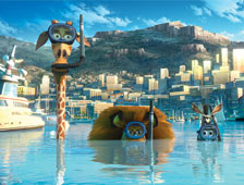 Prometeo no pudo vencer a Madagascar 3 en la taquilla