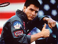 Tom Cruise en la secuela de Top Gun