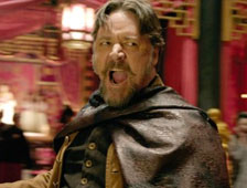 Tráiler de acceso restringido para The Man With the Iron Fists, con RZA y Russell Crowe