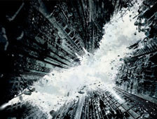 Foto: Arte de calle increíble para The Dark Knight Rises