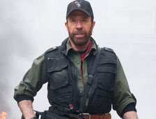 Chuck Norris no regresará para The Expendables 3