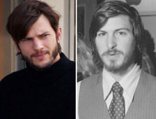 Ashton Kutcher como Steve Jobs en fotos del set de jOBS
