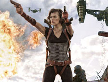 Resident Evil: Retribution toma el primer lugar en la taquilla, The Master establece r&eacute;cord