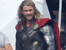Nuevas fotos de set de Thor 2 muestran criaturas malvadas