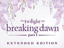 El Blu-ray extendido de La saga Crepúsculo: Amanecer - Parte 1 obtiene trailer y fecha de lanzamiento