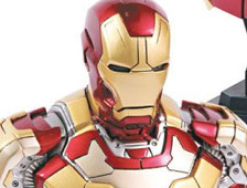 Fotos: Hot Toys revela juguetes de Iron Man de The Avengers y Iron Man 3