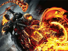 Video: Maniobra de moto en Ghost Rider 2 sale mal. El especialista demanda a Sony
