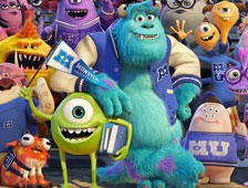 Un nuevo trailer de Monsters University de Pixar online