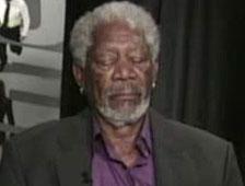 Morgan Freeman habla sobre quedarse dormido en medio de una entrevista en directo