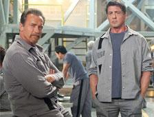 Poster del thriller de Escape Plan, con Arnold Schwarzenegger y Sylvester Stallone