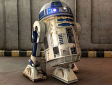 Foto: R2-D2 en Star Trek: Into Darkness