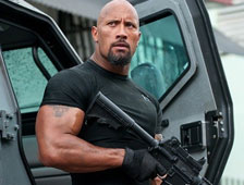Dwayne Johnson revela una foto de la acción de Fast and Furious 7
