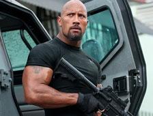 Dwayne Johnson revela una foto de la acción de Fast and Furious 7