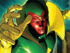 Paul Bettany es The Vision en Avengers: Age of Ultron