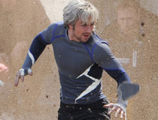 Fotos de Hawkeye, Scarlet Witch y Quicksilver en el set de Avengers: Age of Ultron