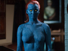 Jennifer Lawrence como Mystique de X-Men: Days of Future Past en la cubierta de EW