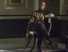 Poster del nuevo thriller de Denzel Washington, The Equalizer