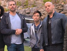 Nuevas fotos del set de Fast and Furious 7 con los hermanos de Paul Walker