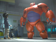 Trailer de la película animada Big Hero 6 de Marvel