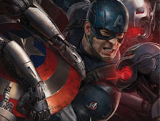 Dos nuevos posters de Avengers: Age of Ultron, con Captain America y Black Widow