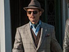 Trailer de la comedia de acción Mortdecai de Johnny Depp