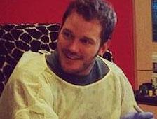 Fotos: Chris Pratt visita a niños enfermos vestido de Star-Lord