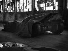 Foto oficial del Batmobile de Batman v Superman: Dawn of Justice