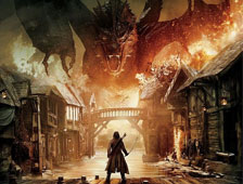 "Banner masivo para ""The Hobbit: The Battle of the Five Armies"""