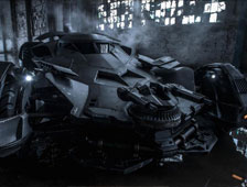 "Echa un vistazo al Batmóvil en acción en el set de ""Batman v Superman: Dawn of Justice"""