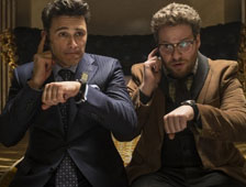 "Tráiler de la comedia ""The Interview"", con James Franco y Seth Rogen"