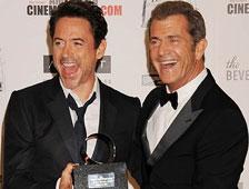 Robert Downey Jr haría Iron Man 4 si Mel Gibson fuera el director